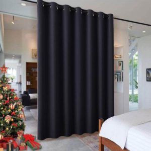RYB HOME Blackout Thermal Insulated Blind Curtains