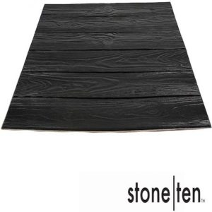 Stone Ten Foam Faux Wood Wallpaper Panels​