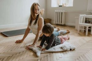 play with your child without disturbing neighbors