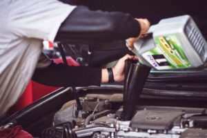 replace engine oil
