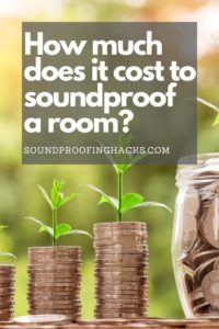 how much does it cost to soundproof a room pinterest 1