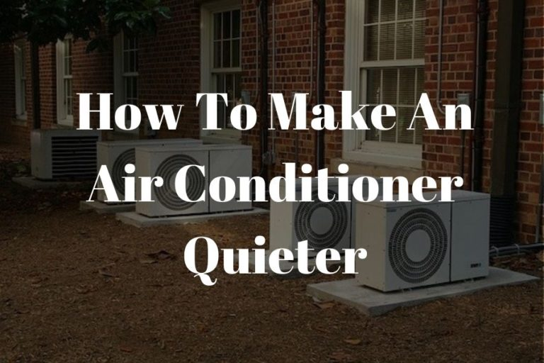 how to make air conditioner quieter featured image