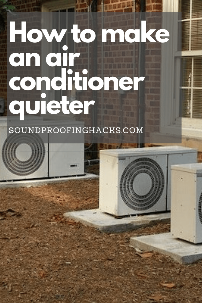 how to make an air conditioner quieter pinterest 1
