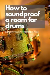 how to soundproof a room for drums pinterest 1