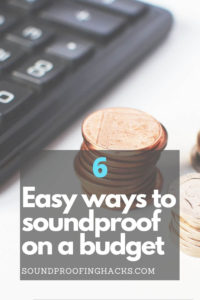 6 easy ways to soundproof on a budget pinterest 1