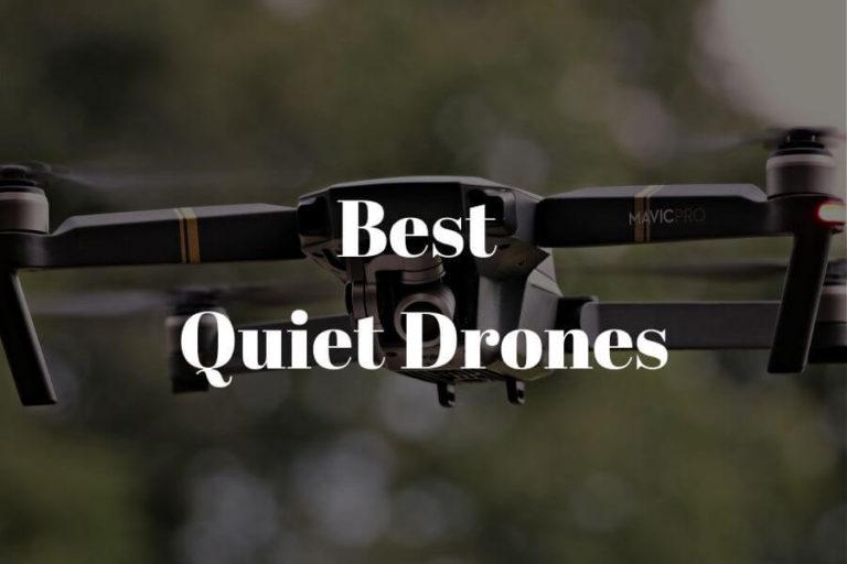best quiet drones featured image