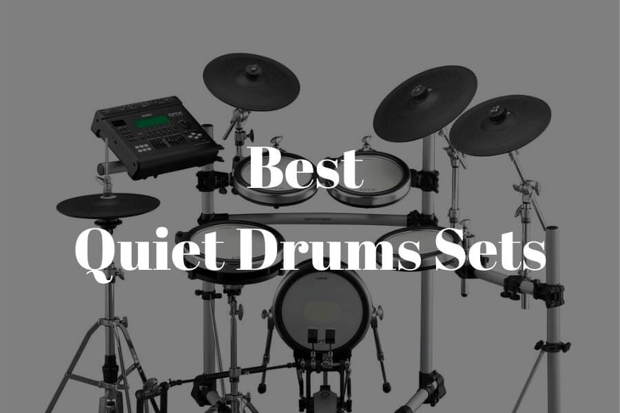 best quiet drum sets featured image