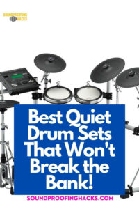 best quiet drums sets