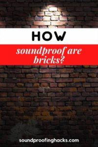 how soundproof are bricks