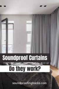 soundproof curtains pinterest
