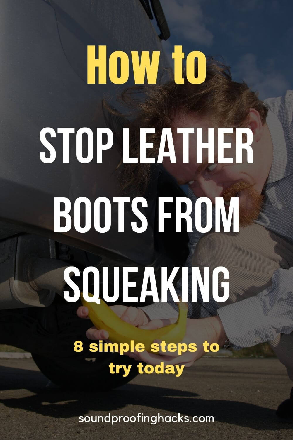 how to stop leather boots from squeaking pinterest